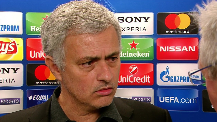 José uninterested in Pogba questioning