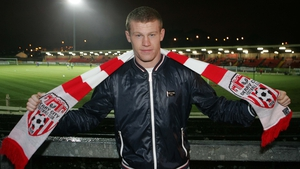 James McClean is hoping to pull on the Derry City jersey again one day
