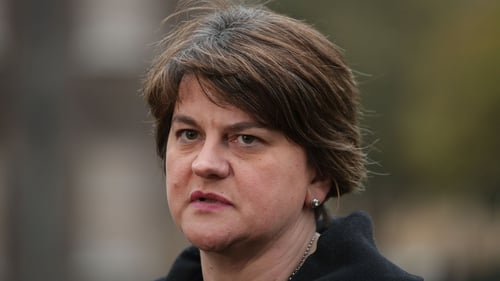 Arlene Foster said that the EU draft text would be economically catastrophic for Northern Ireland