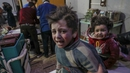 More than 100 children have been killed in the seven-day offensive on the rebel-held enclave of Ghouta
