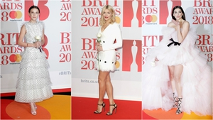 Brit Awards 2018: White Roses on the Red Carpet