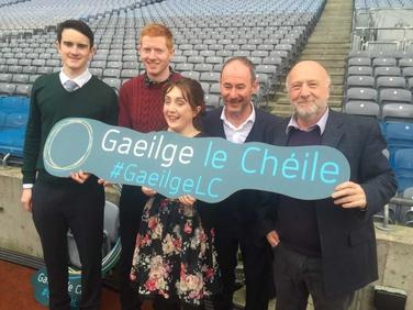 Aitheantas oifigiúil náisiúnta ar dhaoine lasmuigh den Ghaeltacht a chuireann Gaeilge chun cinn sa phobal