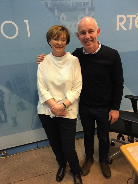 News Reader Una O'Hagan is Finishing In RTÉ