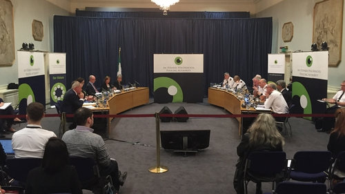 The Policing Authority and senior gardaí met in public at Dublin Castle