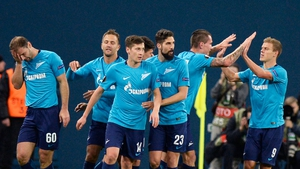 Celtic crash out of Europe as Zenit turn it around