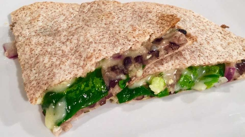 Dale Pinnock's Quesadillas in 5 Steps
