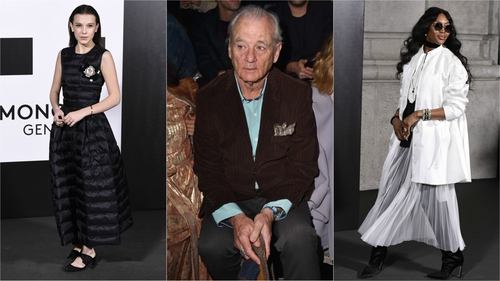 Which celebs are attending Milan Fashion Week?