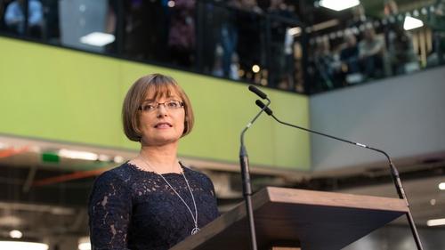 Microsoft Ireland managing director Cathriona Hallahan