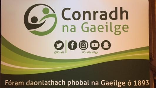 Mairéad Ní Fhatharta, Conradh na Gaeilge.