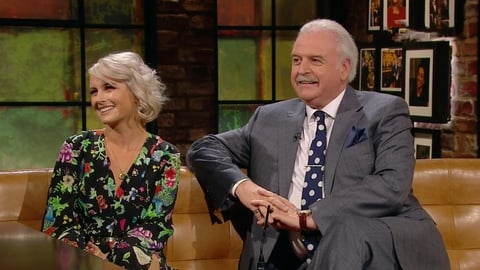 Marty Whelan and Sinead Kennedy | The Late Late Show