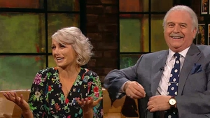 Sinead Kennedy and Marty Whelan were guests on Friday's Late Late Show