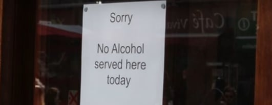 Pubs close on Good Friday