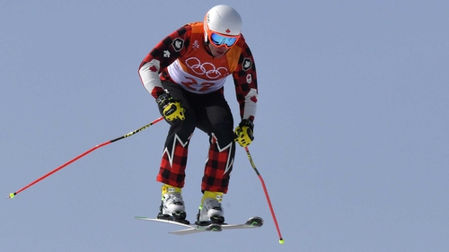 David Duncan in action at the Winter Games