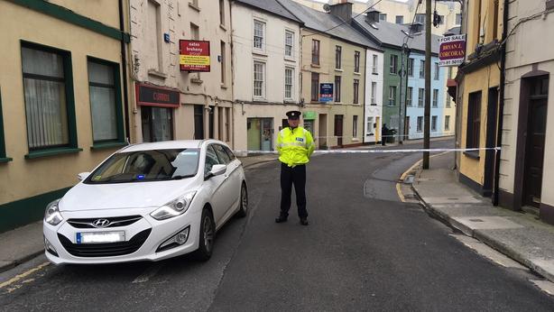 Sligo murder scene