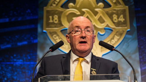 John Horan started his three-year term as GAA President last month