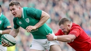 Chris Farrell powers beyond Samson Lee of Wales