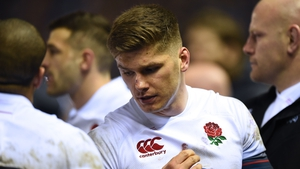 When the dust had settled Owen Farrell and England's dream of a Grand Slam was over