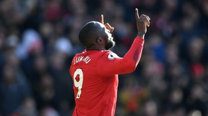 Romelu Lukaku scored Manchester United's first goal