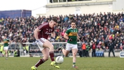 Eamonn Brannigan slots home Galway's goal