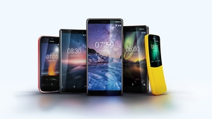 Nokia also announced four other new handsets