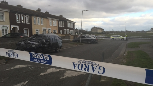 The shooting happened Moatview Gardens in Priorswood, Coolock