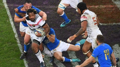 Mathieu Bastareaud won 54 caps for his country