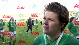 "Ciara Griffin ""we are building each week"" 