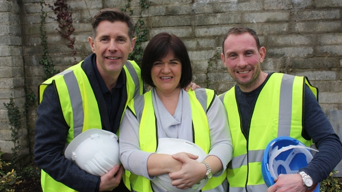 Dermot with Suzy and Dave
