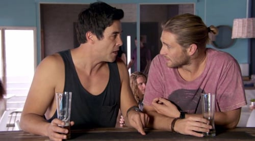 Justin is furious with Ash on Home and Away