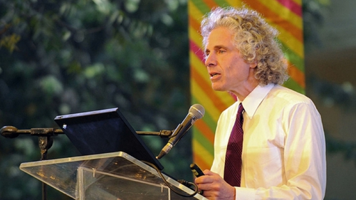 Scientist Steven Pinker says we need to realise that statistically, health, safety, peace and prosperity are on the rise.