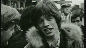 Mick Jagger. Pic: RTÉ Archives