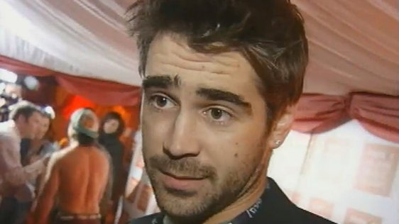 Colin Farrell at the Meteor Awards (2003)