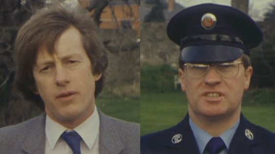 Driving Instructor John Walsh and Ambulance Driver Noel O'Connor