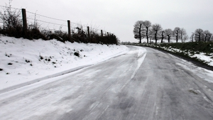 Met Éireann says wintry showers are also expected (File pic)