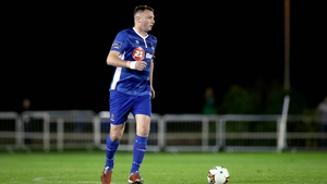 Kenny Browne struck Waterford's first half goal as they beat St. Patrick's Athletic