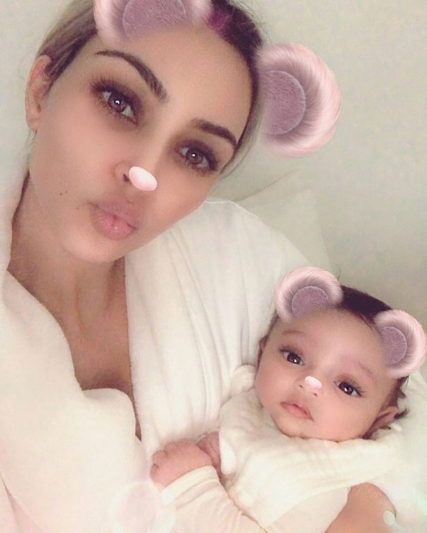 Kim Kardashian shares photo of daughter Chicago on Instagram