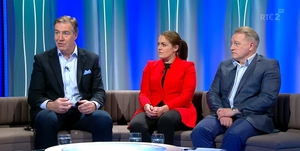 The Against The Head panel of Donal Lenihan, Fiona Coghlan and Eddie O'Sullivan