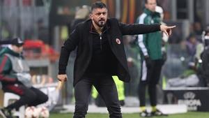 Gennaro Gattuso is set to leave AC Milan today