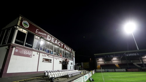 Galway United are currently mid-table in the First Division