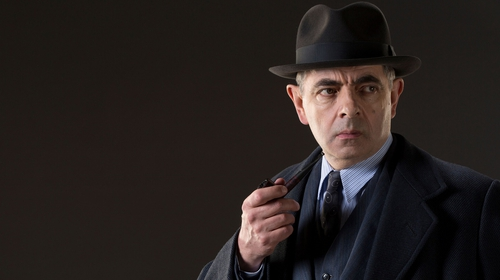 Rowan Atkinson portrayed Inspector Maigret in the recent ITV adaptations of Georges Simenon's novels.