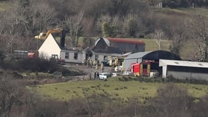 The four bodies were found after a house on Molly Road in Derrylin was destroyed in a fire