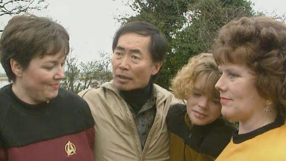 George Takei, Star Trek Convention in Malahide (1993)