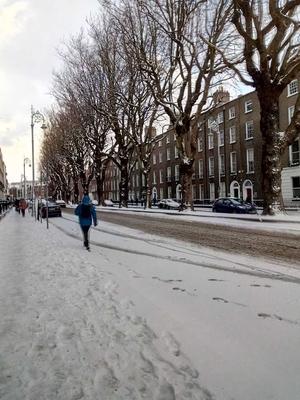 Baggot Street, Dublin (Pic: John McDonald)