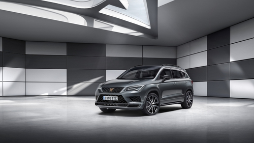 The first of the new separate Cupra line-up models - the Ateca version.