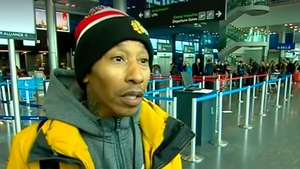 Rapper Fredro Starr slept at Dublin airport last night