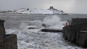 High seas at Dalkey Island - By Karen Hogan