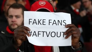 Some Arsenal fans are not happy with Arsenal fan TV