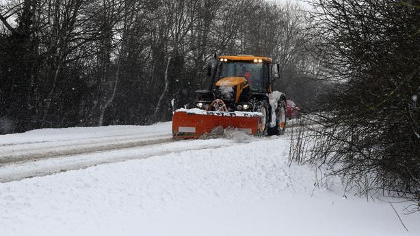 Snow plough Naas Kildare
