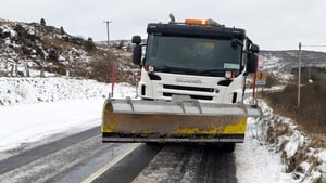 Snow ploughs are in action in Co Sligo (Pic: Sligo County Council)