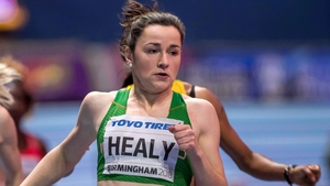 Healy clocked a time of 11.58 in the 100m semi-final in London